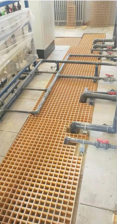 延安自来水厂—钢格板案例