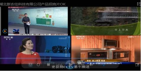 湖北新农佳CCTV新闻广告