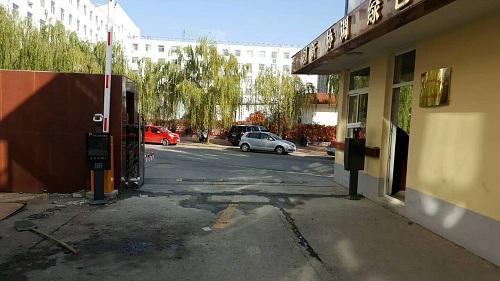 榆林市林业局车牌识别系统