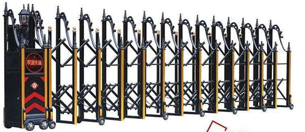 铝合金电动伸缩门厂家