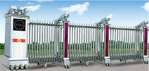 不锈钢电动伸缩门厂家