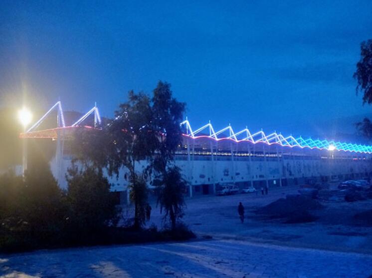 甘肃众城能源照明的楼宇亮化