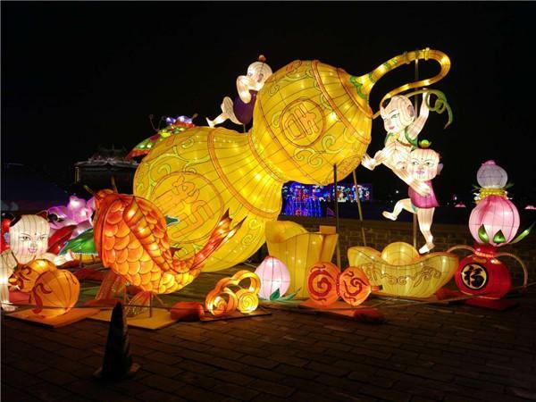 甘肃城市节日亮化