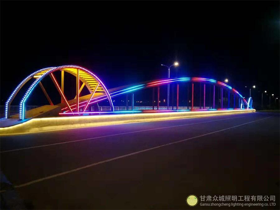 定西桥梁亮化工程展示