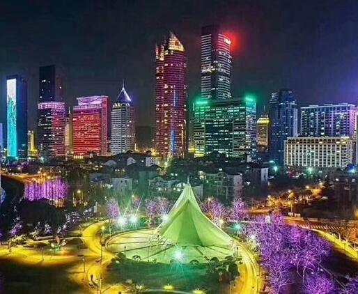 甘肃城市亮化