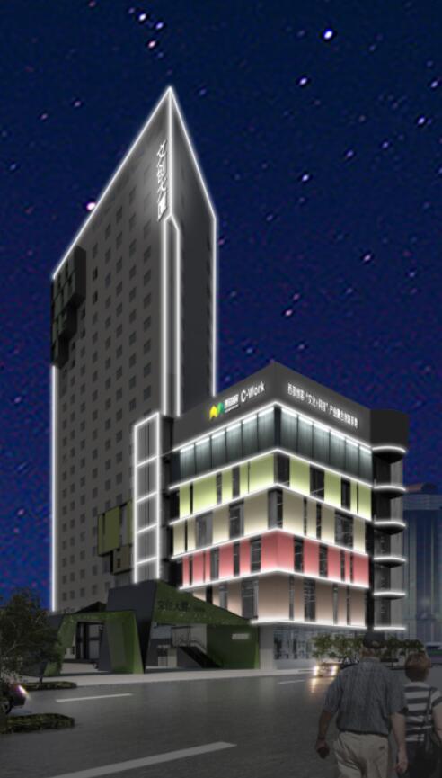 甘肃城市楼宇亮化