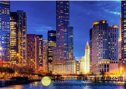 城市里的亮化工程,一起来看美丽的楼宇亮化吧
