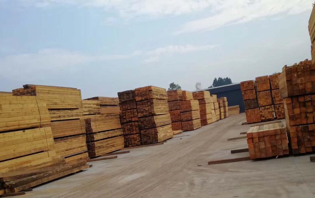 林怡帆材料堆放区域