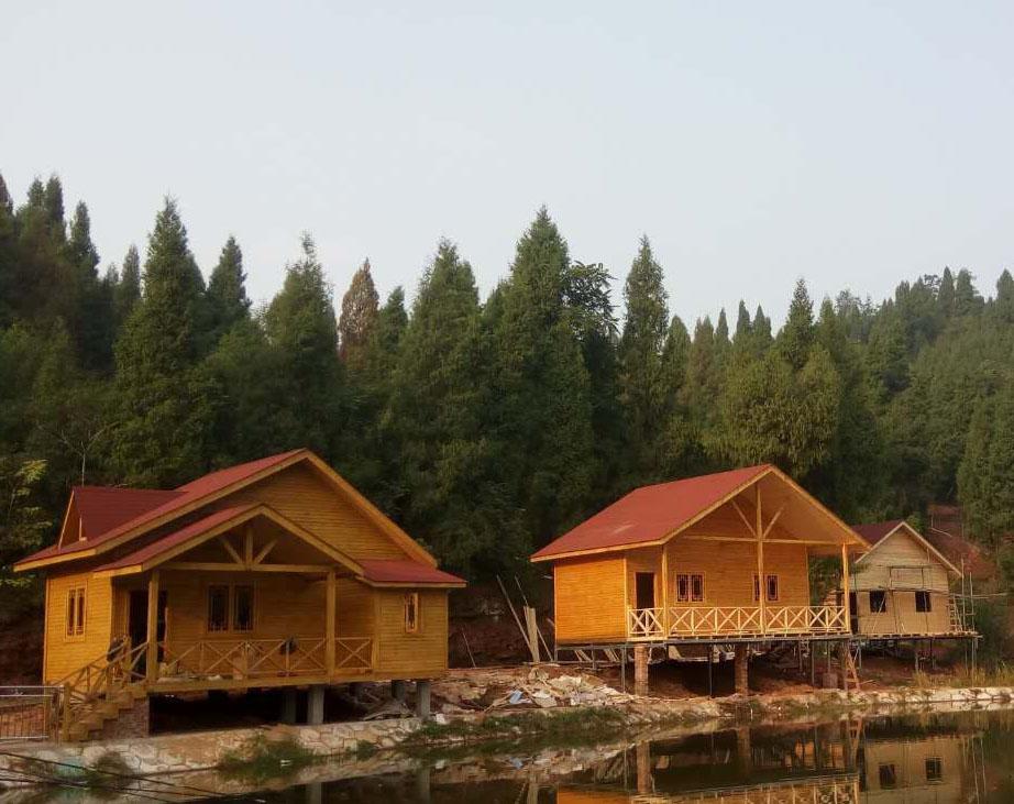 成都防腐木木屋施工