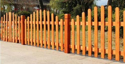 成都防腐木栏杆