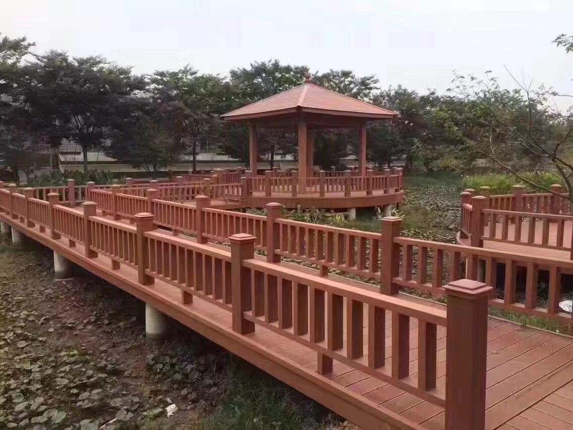 四川防腐木长廊
