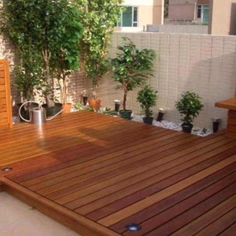 成都防腐木地板安装