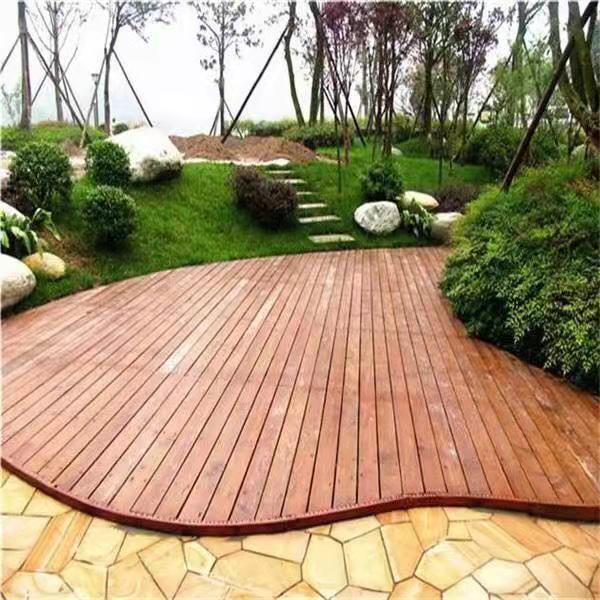 成都防腐木地板工程
