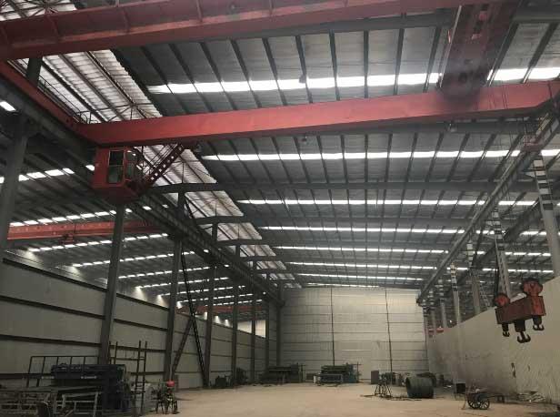 焊网生产区域