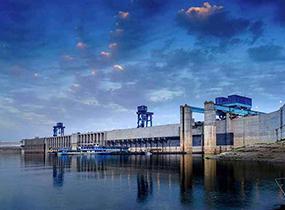 重力坝厂房建设