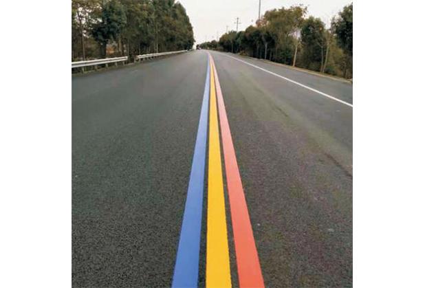 彩色瀝青路面為什么被廣泛應用?