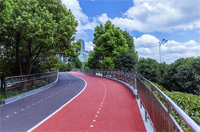彩色沥青路面性能特点及用途