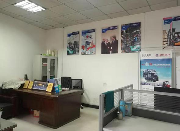 四川仓储叉车公司厂区风采