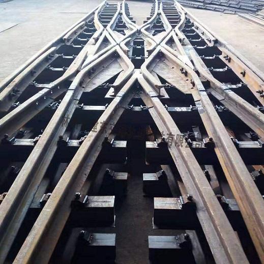 工形钢渡线道岔
