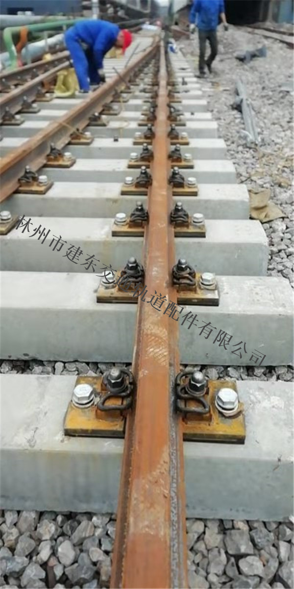 河南铁路道岔施工案例