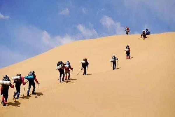 河南團隊建設徒步沙漠