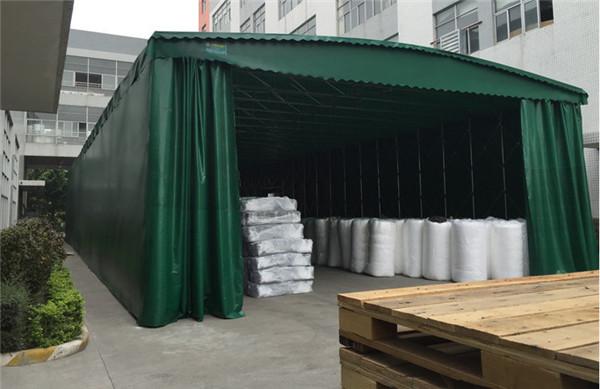 推拉帐篷厂家的师傅安装技术专业,服务到位!