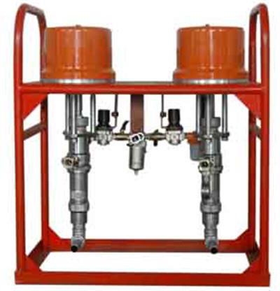 雙液氣動注漿泵