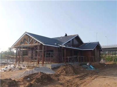 河南防腐木屋安装