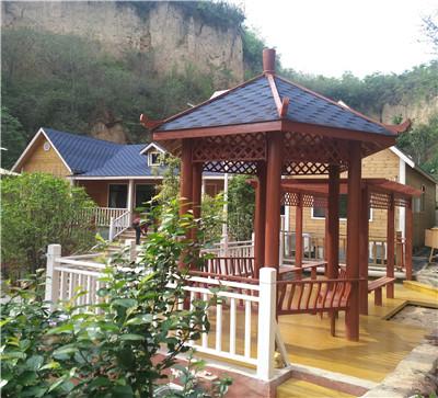 郑州樱桃沟一房两户轻型木屋