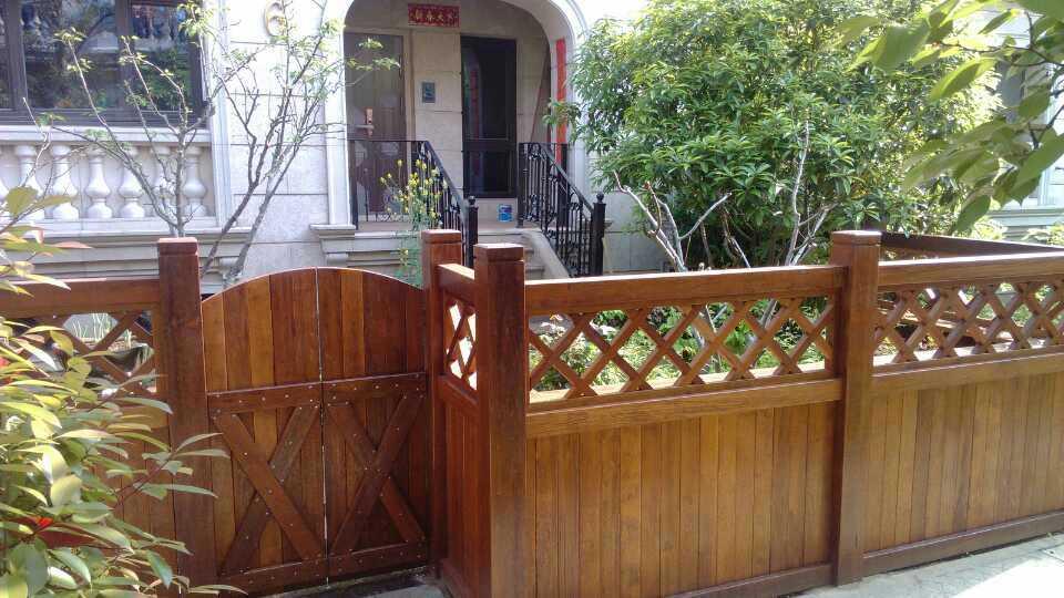 河南防腐木护栏