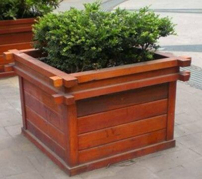 河南防腐木花箱