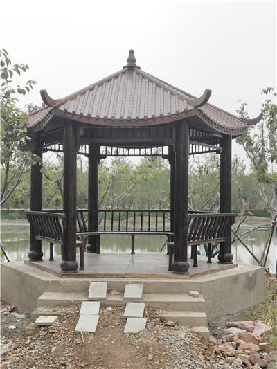 河南防腐木凉亭设计