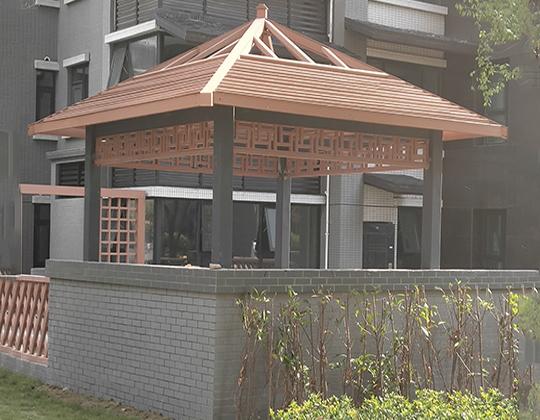 商丘森林公园凉亭