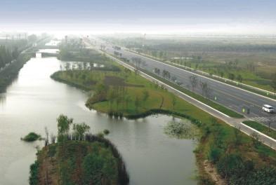 四川达州市渠县北城快速通道雨水管网项目