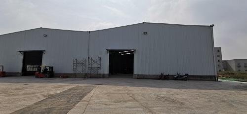 厂房外部环境展示