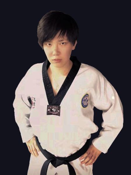 成人跆拳道教练——薛金玉
