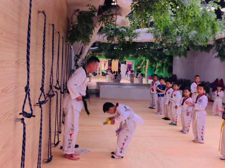 成人跆拳道培训