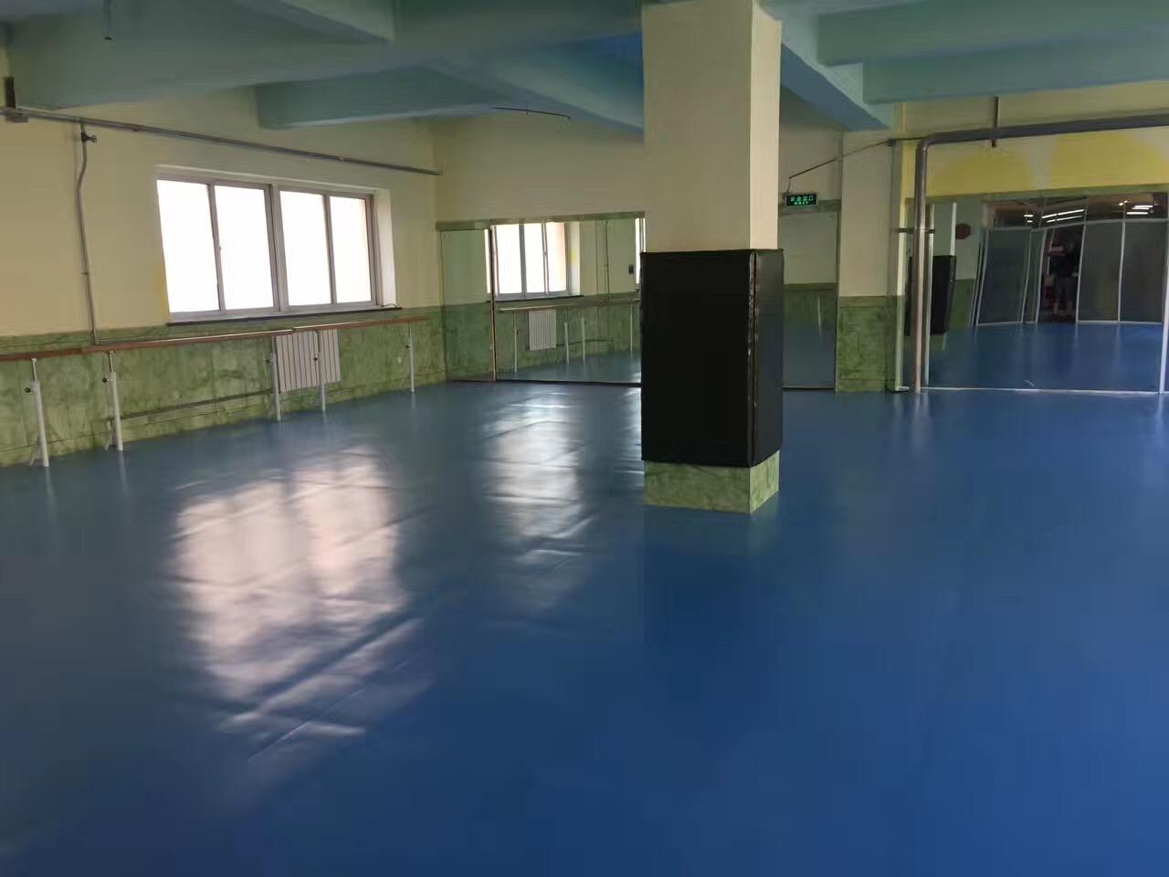 飞雪跆拳道白银路店武馆展示