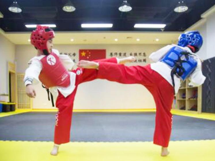 跆拳道提高班