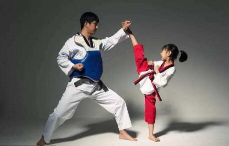 跆拳道培训过程