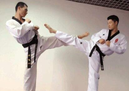跆拳道练习方法图解