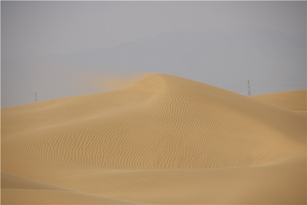 库布齐沙漠徒步