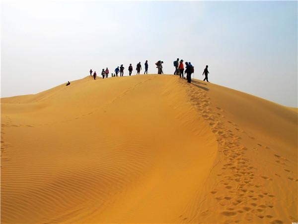库布齐沙漠徒步、团建拓展