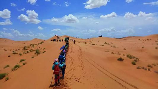 企业沙漠团建的优势