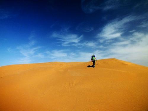 为什么现在很多企业团建都选在沙漠?