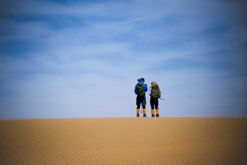 沙漠旅游季节