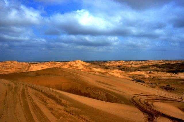 当我们在沙漠的时候,有哪些可以玩的呢?