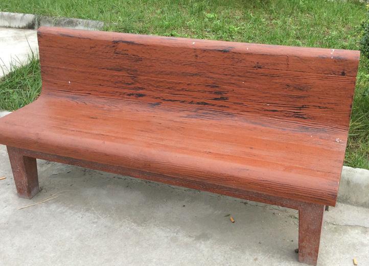 水泥仿木凳子