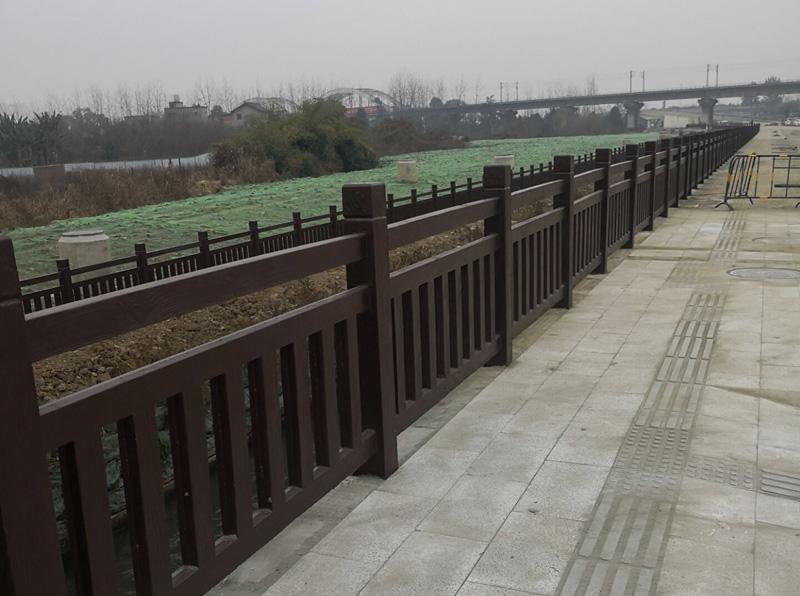 仿木栏杆案例