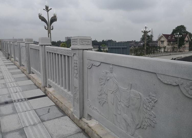 怎么对成都铸造石栏杆进行安装?